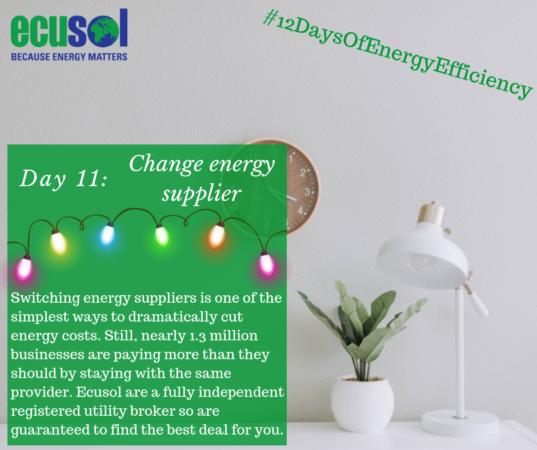 change energy utilities supplier