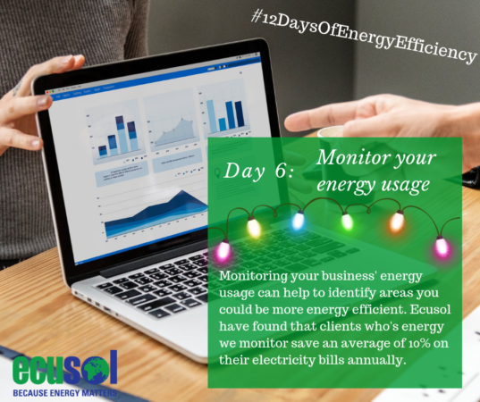 monitor business energy usage