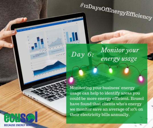 monitor business energy usage