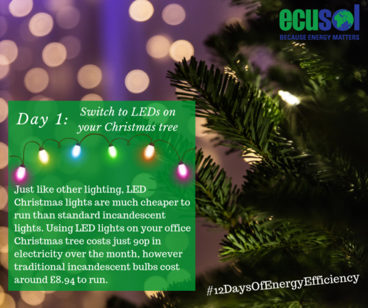use LEDs to reduce energy costs